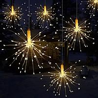 Dây đèn 5 bông pháo hoa 5m mắc nối tiếp