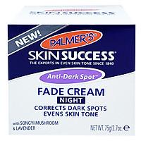 Kem Dưỡng Trắng Sáng Da Ban Đêm, Mờ Thâm Nám – Tàn Nhang Palmer'S Skin Successanti Dark Spot Fade Cream Night (75g)