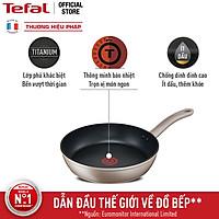[Gift] Chảo chiên chống dính đáy từ Tefal Sensations H9100614 28cm (Đồng) - Hàng chính hãng
