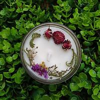 Nến thơm tinh dầu Vani 100g, làm thơm phòng, khử mùi, thư giãn giảm stress –  Essential Oil Candle
