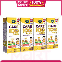 Thùng sữa nước Nutricare Care 100 GOLD cho trẻ thấp còi, biếng ăn từ 1 tuổi (110ml x 48 hộp)