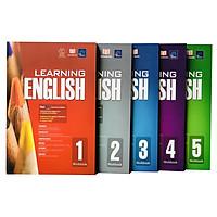 Sách Learning english ( Bộ 5 cuốn, 6 - 11 tuổi )