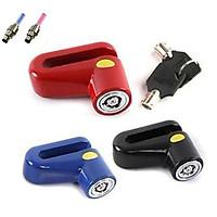 [COMBO] Ổ khóa phanh đĩa chống trộm cho xe đạp thể thao (Giao màu ngẫu nhiên) + Tặng 2 đèn LED Van xe