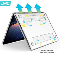 Ốp trong suốt JRC dành cho Macbook M1 có khe tản nhiệt- Hàng chính hãng