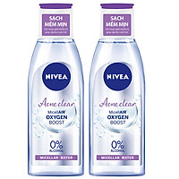 Combo 2 Nước Tẩy Trang Nivea Acne Care Make Up Clear Micellar Water (125ml*2)