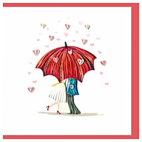 Thiệp Giấy Xoắn GX Love Việt Net VN2XM1150OGNN (15 x 15 cm)