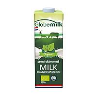 Sữa tươi tiệt trùng ít béo Globemilk Oragnic Semi-Skimmed milk