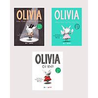 Combo 3 Cuốn Olivia: Olivia cừ khôi + Olivia và những nàng công chúa thiên thần + Olivia cứu tinh của gánh xiếc (Bộ sách Hài Hước Sáng Tạo cho trẻ từ 3-8 tuổi)