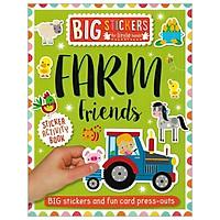 Big Stickers For Little Hands: Farm Friends
