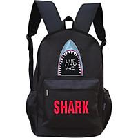 Balo thời trang nam nữ TROY NK in hình cá mập Shark