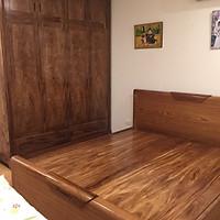 Giường ngủ hương xám 1m8x2m