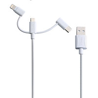 Dây Cáp Sạc 3 Trong 1 MicroUSB/USB Type-C/Lightning MiLi 1m - HI-L31 - Hàng Chính Hãng