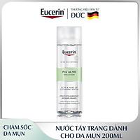 Nước Tẩy Trang 200ml Cho Da Mụn Eucerin Pro Acne Make Up Cleansing Water