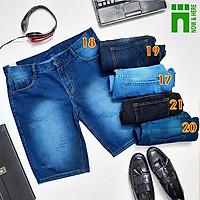 Quần short jean nam có BIG SIZE (đến 100kg), quần ngố BIGSIZE cao cấp, chất co giãn nhẹ - NH Shop