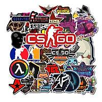 Bộ 50 miếng Sticker hình dán CS-Go