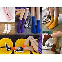 Bộ 7 đôi tất cao cổ nữ Basic II
