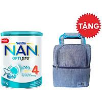Sữa Bột Nestlé NAN OPTIPRO  4 HMO Lon 1.7kg + Tặng Balo Cho Mẹ