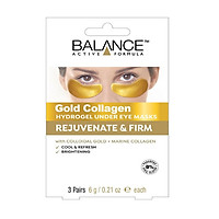 Mặt nạ mắt  BALANCE GOLD COLLAGEN HYDROGEL UNDER EYE MASK - 3 MIẾNG