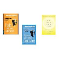 Combo 3 cuốn sách: Tự Do Vượt Trên Sự Hiểu Biết + Giáo Dục Và Ý Nghĩa Cuộc Sống + Luật hấp dẫn  (Tái bản)