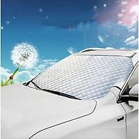 Bạt che nắng kính lái xe ô tô - dày 3 lớp, tráng nhôm.