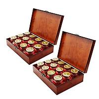 Yến sào Song Việt - Combo 2 hộp gỗ thời thượng ( loại 12 phần/ hộp)