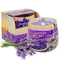 Ly nến thơm tinh dầu Bartek Lavender Fields 100g QT04968 - cánh đồng oải hương (giao mẫu ngẫu nhiên)
