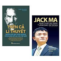 Combo Thuật Lãnh Đạo Đỉnh Cao: Jack Ma - Nghệ Thuật Xây Dựng Và Lãnh Đạo Tập Đoàn + Trên Cả Lí Thuyết - Những Bài Học Kinh Doanh Steve Jobs Để Lại Cho Thế Giới (Bộ 2 cuốn sách Kinh tế hay nhất mọi thời đại - Tặng kèm bookmark Happy Life)
