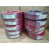 dây loa ma niken dành cho nhà yến cuôn 100m (màu đỏ đen)