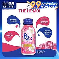 Nước Uống Đẹp Da - 82X The Pink Collagen 1000mg Collagen Peptide,  100ml/Chai  Nước Uống Đẹp Da Tràn Năng Lượng Đến Từ Nhật Bản