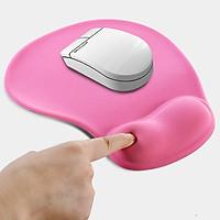 Miếng lót chuột silicon mút đệm cao su êm đàn hồi nâng cổ tay chống mỏi chống trượt khi chơi game