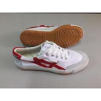 Giày Bata Thượng Đình trắng sọc đỏ