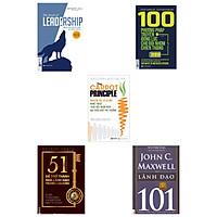 Combo 5 cuồn : Lãnh Đạo 101 + Nguyên tắc củ cà rốt + 51 Chìa khóa vàng để trở thành nhà l