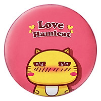 Gối Ôm Tròn Mèo Hamicat Love - GOCT102