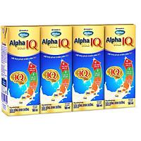 Thùng 48 Hộp Sữa Bột Pha Sẵn Vinamilk Dielac Alpha Gold IQ 180ml