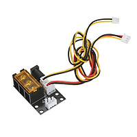 KKmoon 2 Pin to 3 Pin Laser Module Adapter Board Laser 3-interface Engraving Machine Conversion Board with 2-pin and