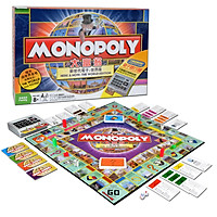 Cờ Tỷ Phú Monopoly Here & Now - The World Edition Có Máy ATM Tính Tiền