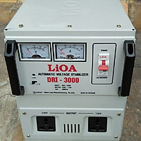 Ổn áp lioa 3kva model DRI - 3000II đời mới nhất dây đồng 100%