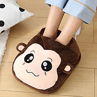 Túi sưởi ấm chân - Máy sưởi ấm chân hình thú size 32x27x12cm - Giao hình thú ngẫu nhiên