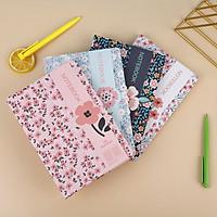 Sổ tay bìa cứng Mikirei series Tiny Flowers A5 96 trang - 1 cuốn (giao hình ngẫu nhiên)