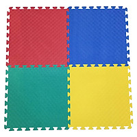 Bộ 4 tấm (4 màu trơn khác nhau) Thảm xốp lót sàn an toàn Thoại Tân Thành (60x60cm)
