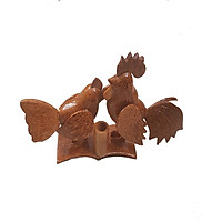 Gà đôi gỗ dừa