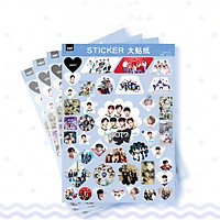 Set 4 tấm dán Sticker GOT7