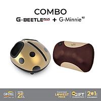 Máy massage chân Gintell G-Beetle Plus Tặng Kèm Gối Massage G-Minnie EZ