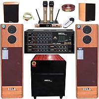 Trọn bộ dàn âm thanh karaoke gia đình KMS - 206 BellPlus (hàng chính hãng)
