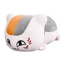 Thú Bông Mèo Neko, Mèo Nhật Bản May Mắn Màu Trắng Siêu Hot (Mẫu Mắt To - 50cm)