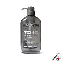 Dầu Gội Xả 2in1 Bạc Hà Mát Lạnh cho Nam PharmaAct Tonic Rinse In Shampoo (600ml)