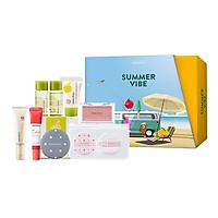[Phiên bản đặc biệt summer vibe box] - Bộ trang điểm tươi tắn mỗi ngày innisfree Make Up box #2  - 278001887