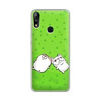 Ốp lưng dẻo cho điện thoại Zenfone Max Pro M2 - 01219 7846 MEO09 - Mèo Ami - Hàng Chính Hãng