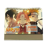 (Lịch 2020) Lịch để bàn hình Anime Naruto Truyền Kỳ - Naruto shippuuden