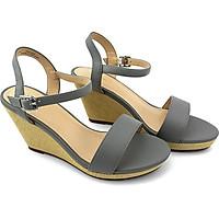 Giày Sandal Cao Gót Nữ PABNO PN13004, Đế Xuồng Cao 9cm, Chất Da Mềm Mại, Quai Ngang Thời Trang, Năng Động